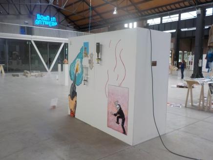 """Rawhide Landscape"" bar installation (Capital M, 2016)"