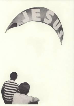 iemand heb echt een leljke vlieger op het strand opgepleurd