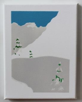 Spraypaint on canvas (18x24cm)