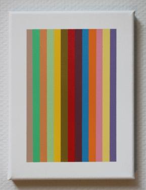 spraypaint on canvas 18 x 24 cm